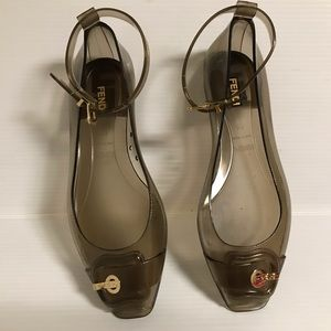Fendi see through/ shoes size 37